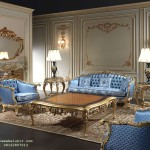 Set Sofa Ruang Tamu Italian Gold